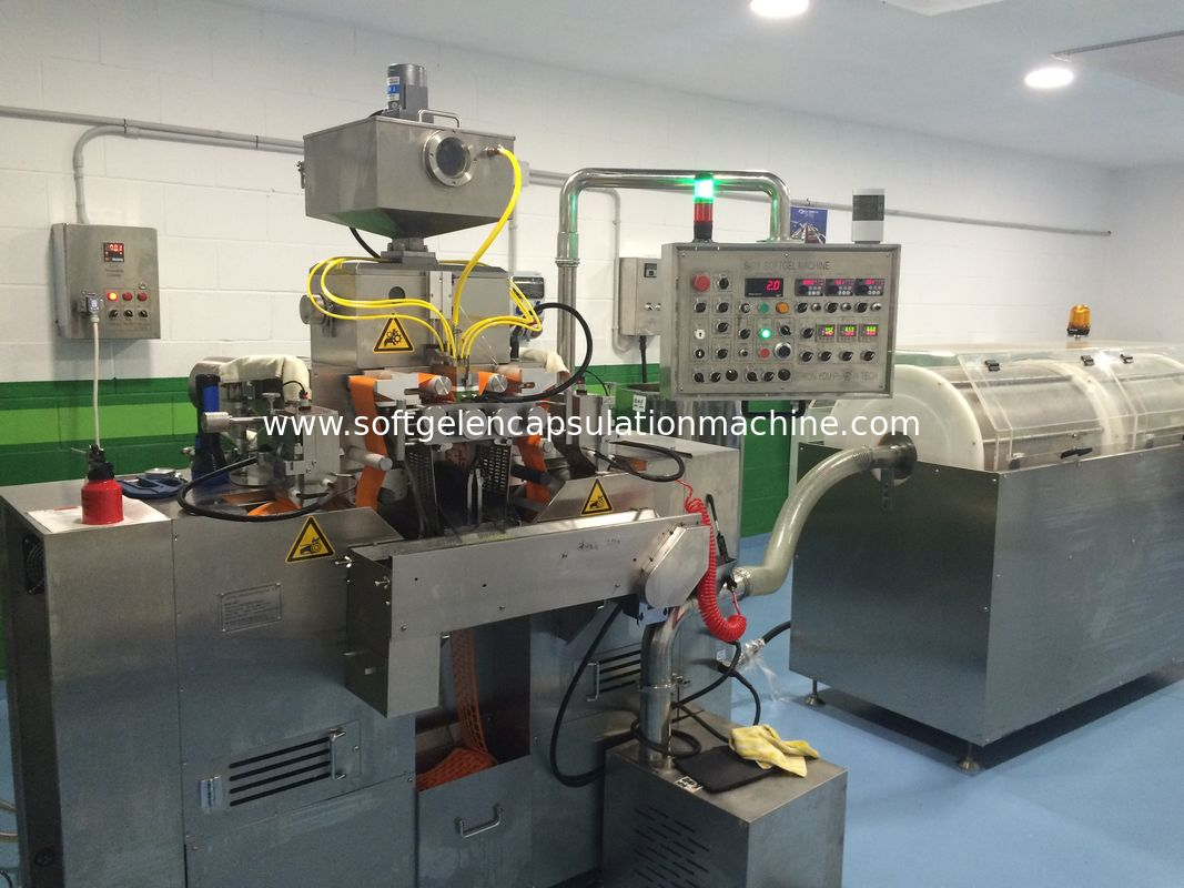 R & D Pharmaceutical Softgel Encapsulation Machine With Small capacity S403